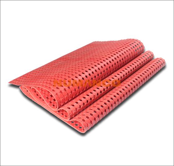 防滑带孔垫
